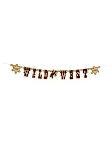 Wild West Party Supplies - Generique - Wilder Westen Party-Girlande Raumdekoration