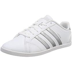 adidas Coneo QT, Chaussures de Fitness Femme, Blanc (Ftwbla/Plamat/Ftwbla 000), 38 EU
