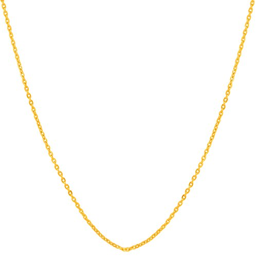 Voylla Plain Gold Chain Gift For Men