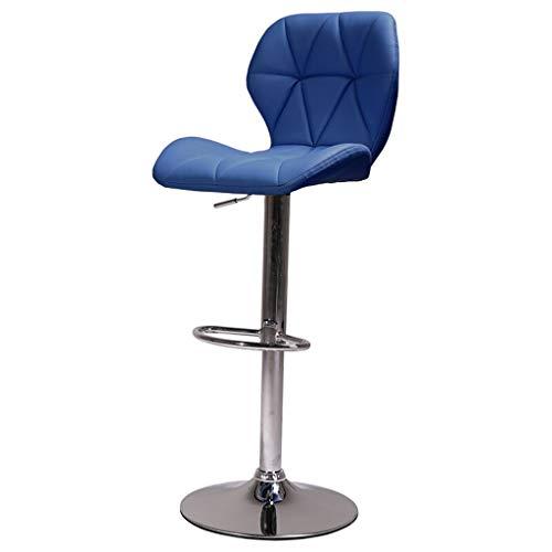SuRose Barhocker Home Barhocker, Kann Barhocker Drehen Barhocker Haushalt Stuhl Höhenverstellbar Mit Armlehnen Hocker (Farbe: # 4) -