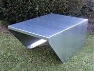 Garage aus Stahlblech verzinkt für Mähroboter Akkumäher Breite 68 cm
