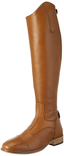 Harry\'s Horse Damen Reitstiefel Elite Cognac Normal-39, Braun, 39/L