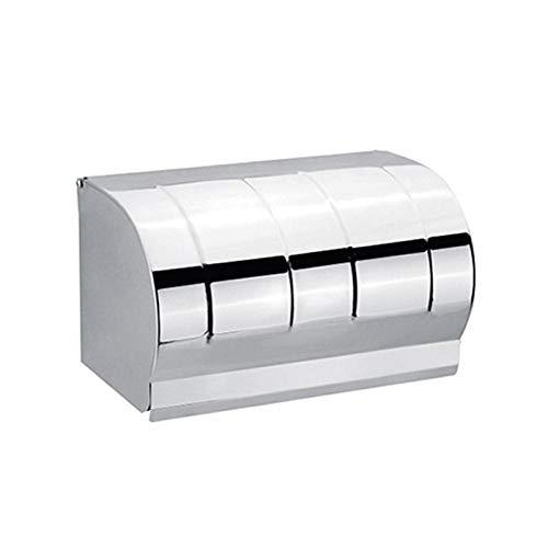 Toilettenpapierhalter wasserdicht Rollenhalter Licht Bad WC Toilettenpapier Box hängen wasserdicht Rollenhalter