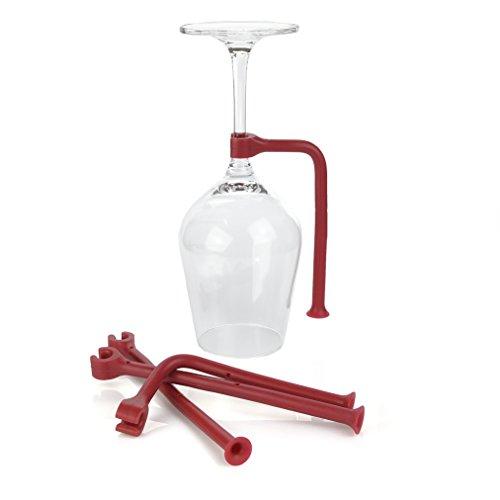 Charles Daily Glashalter für Geschirrspüler | Silikon Weinglashalter Spülmaschine | Gefahrloses...