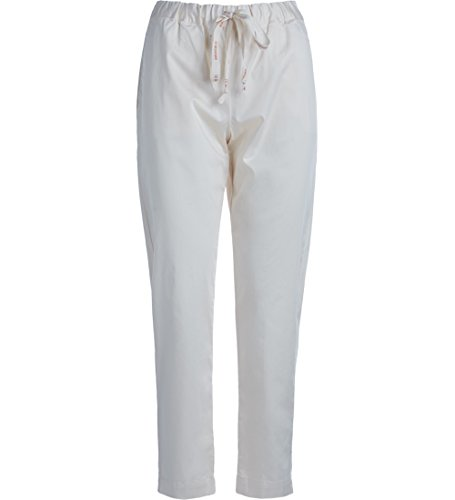 Pantalone Semicouture Buddy bianco latte Bianco