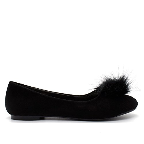 London Footwear - Ballet donna Black