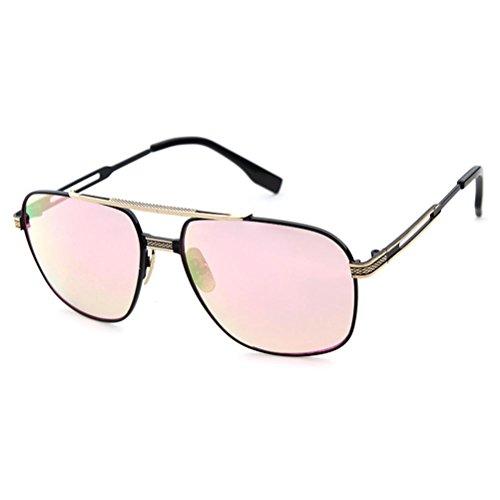 Männer und Frauen Metallrahmen Sonnenbrillen bunt Mode parallele Bars Kröte Sonnenbrillen c1 (Erwachsene Kröte Kit)