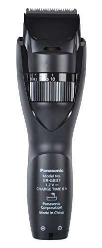 Panasonic ER-GB37 Men's Trimmer (Black)