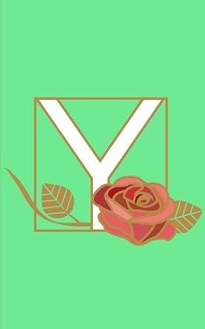 Y: Monogram Initial Letter