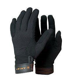 Ariat TEK Grip Reit Handschuhe, 8, schwarz (Tek Handschuhe Grip)