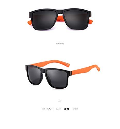 WWVAVA Sonnenbrillen Klassische polarisierte sonnenbrille männer brille fahren beschichtung schwarzer rahmen angeln fahren brillen männlich sonnenbrille, c4