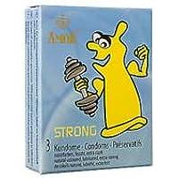 Preisvergleich für AMOR Strong Kondome 3 Stück