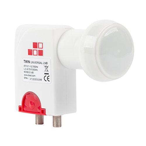 Diesl.com - LNB Twin Universal Beid 0.1 dB
