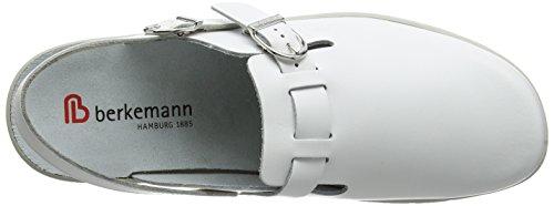 Berkemann Pasadena, Sabots Mixte Adulte Blanc - Blanc (blanc 100)