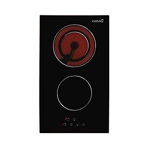 Cata | Placa Vitrocerámica | Modelo TD 302 | 2 Zonas de Cocción High Light | 9 Niveles de Potencia Regulables | 30 cm de…