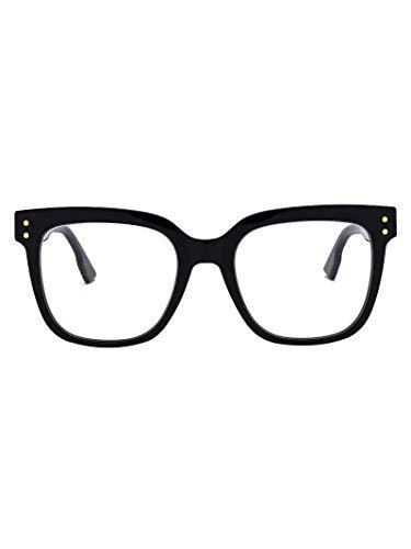 Dior Damen Diorcd1807black Schwarz Acetat Brille
