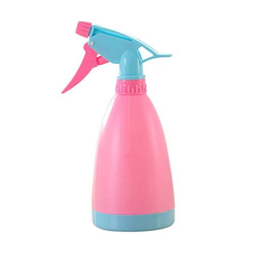 SO-buts Leere Sprühflasche-Plastik, die das Blumen-Wasser-Spray für Salon-Pflanzen wässert (Pink) (Blume Floß)
