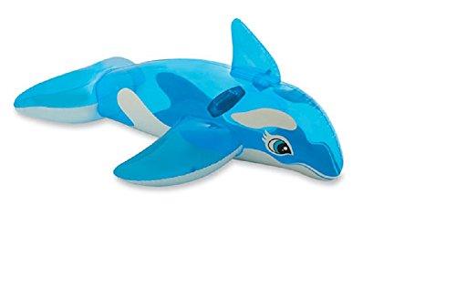 Preisvergleich Produktbild Reittier Badetier Wal hellblau Aufblasbarer Wal für absoluten Badespaß ! Mit Haltegriff. Größe aufgeblasen: ca. 152 x 114 cm Badespaß für Kinder / aufblasbarer Wal / Kinderbadeartikel Wal / aufblasbares Reittier Wal / aufblasbare Badetiere / aufblasbare Badeartikel für Kinder / aufblasbare Badetiere Wal / der ideale Badespass für Schwimmbad , See , Strand oder Bade Urlaub