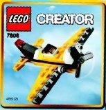 LEGO Creator: Jaune Avion Jeu De Construction 7808 (Dans Un Sac)