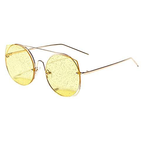 fazry Sonnenbrille für Damen, Vintage-Stil, Retro-Brille Gr. Einheitsgröße, C