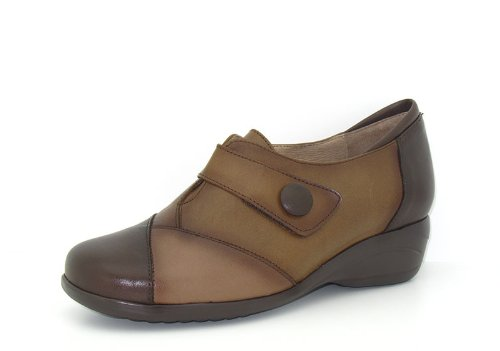 Piesanto Modelo 3984 - Zapatos confort de cuero para mujer