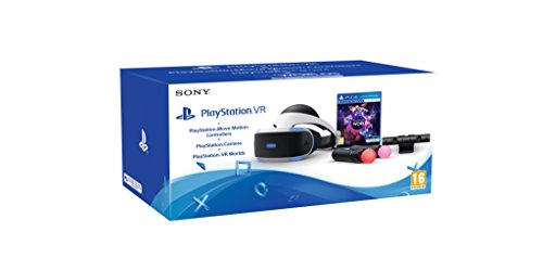 PlayStation 4 Virtual Reality + Camera + Move Twin Pack + VR Worlds