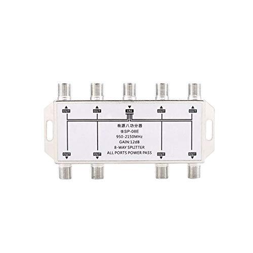 Yao Mini8 Way Port TV Signal Satellite Sat Coaxial Diplexer Combiner Splitter Antennen-combiner