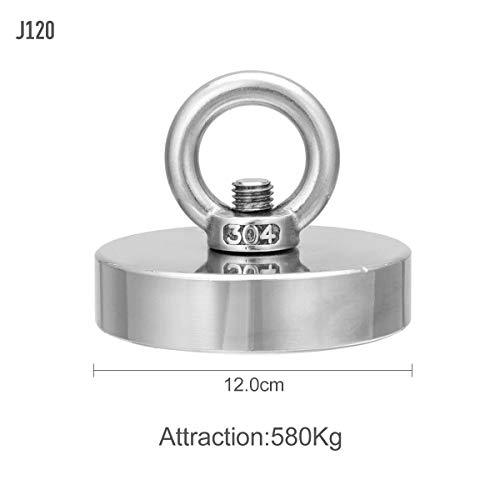 NUOCAI Neodym-Magnet Angel-Metall - starker starker Neodym-Magnet rund Dicke Augenschraube Schatzjagd Zugkraft