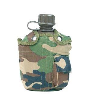 US Feldflasche Imp. woodland
