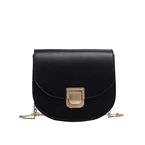 Ledertasche, Schultertasche, Geschenk, Handgefertigte Tasche,Frauen Wild Messenger Bag Fashion One-Shoulder Kleine quadratische Tasche ()