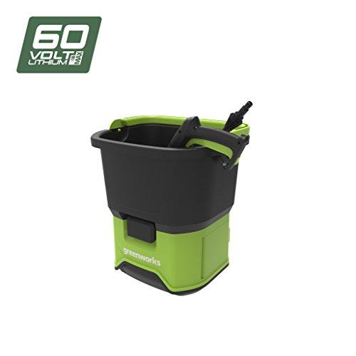 Greenworks Tools Greenworks 5104607 GDC60 DC Hidrolimpiadora sin batería y cargador de 5104507, 60...