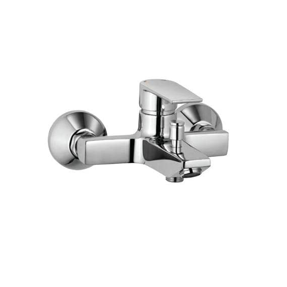 Aquieen Hot & Cold Wall Mounted Bathtub Mixer With Provision For Hand Shower But Without Hand Shower