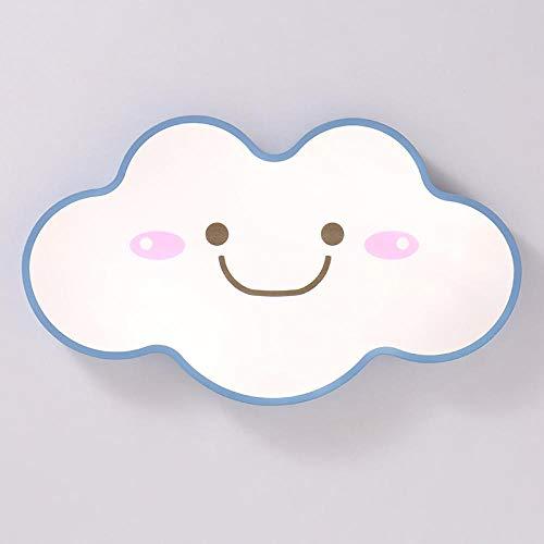 Ø 63cm Macaron 38W Moderne LED Deckenleuchte Stufenloses Dimmen (3000-6000K) Schlafzimmer Einfache Wolkenform Kindergarten Kinderzimmer Deckenleuchte
