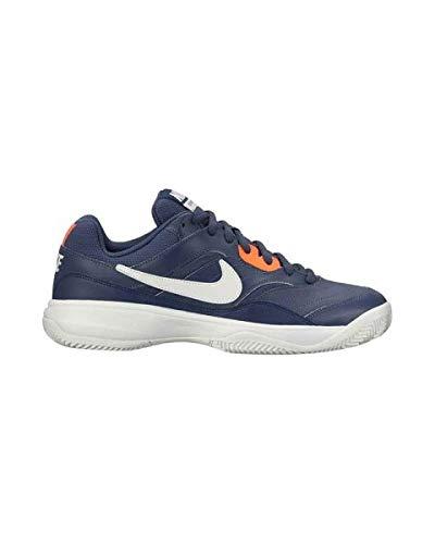 Nike Court Lite Cly, Zapatillas de Deporte para Hombre, (Thunder Blue/White/Hyper Orange 403), 42 EU