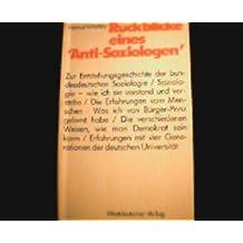 Rückblicke einesAnti-Soziologen