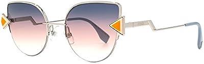 Fendi 0242/S Ff, Gafas de Sol para Mujer, Pink Silver, 52