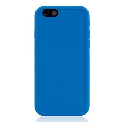 BING Für IPhone 6 / 6s, Thin TPU + PC Gehäuse mit Front Touchscreen BING ( Color : Magenta ) Blue