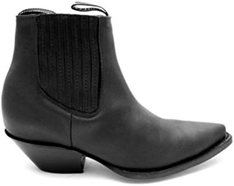 l'unisesx broyeurs mustang de cuir bottes en cuir de noir b07f993gkg parent 3a6232