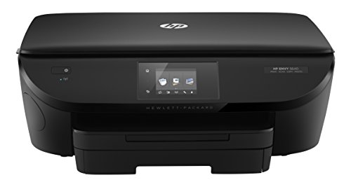 HP Envy 5640 e-All-in-One Drucker (Scanner, Kopierer, Drucker, WiFi, Instant Ink kompatibel) schwarz