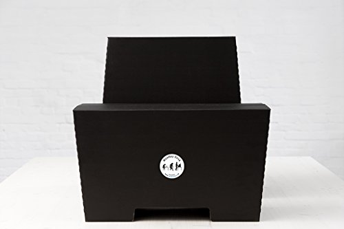 Stehschreibtisch MonKey Desk von ROOM IN A BOX - Large/Schwarz: Faltbares ergonomisches Stehpult, praktischer Ständer für Laptop, PC, Tablet und Monitor, klappbarer Standing Desk für den Schreibtisch - 2
