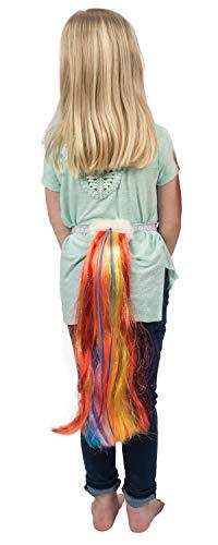 Pferdeschweif Kostüm - Dreamy Dress-Ups 62775 Rainbowtail, Bright, Einhorn