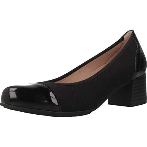 Pitillos Zapatos Tacon 5545 V19 para Mujer Negro 38 EU