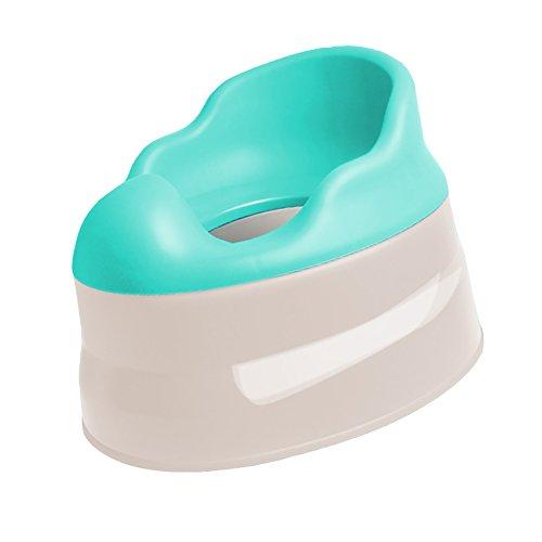 Les Toilettes des Enfants, Matériel respectueux de L'Environnement est Conçu pour s'asseoir confortablement, approprié pour 1 an ou au-Dessus, Trois Couleurs sont facultatives. (Couleur : Bleu)