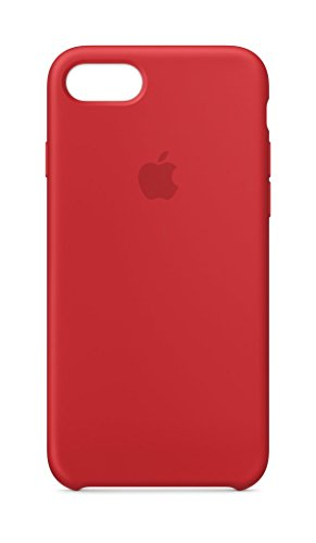 Apple Silikon Case (iPhone 8 / iPhone 7) - Rot
