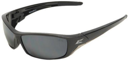 Edge Eyewear SR117 Reclus Schutzbrille, schwarz/silber mit Spiegel Objektiv Edge Safety Eyewear