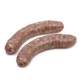 Carré de bœuf - Charcuterie - Saucisse - Saucisse aux oignons - 2 x 125g - Livraison en colis réfrigéré 48h