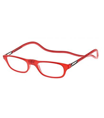 Gafas lectura Slastik Leia Fit 006 Gafas presbicia magnéticas - Color: Rojo - Graduación: +3.0