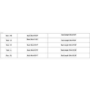 ALIKEEY VêTements pour Chien Chien VêTements Veste à Deux Jambes avec Manteau d'hiver Design Taille Pet Dog Clothes Puppy Jacket Two-Legged Clothes with Waist Design Winter Coat