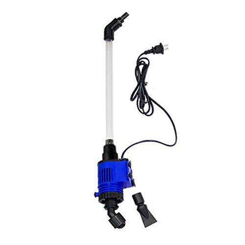 GreatWall Aquarium Water Changer Fish Feces Cleaner Pump Serbatoio di pesce elettrico Sand Washer blu e Nero