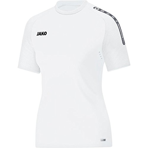 JAKO Damen Champ T-Shirt, weiß, M Preisvergleich